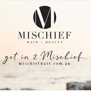 Mischief Hair Noosa logo
