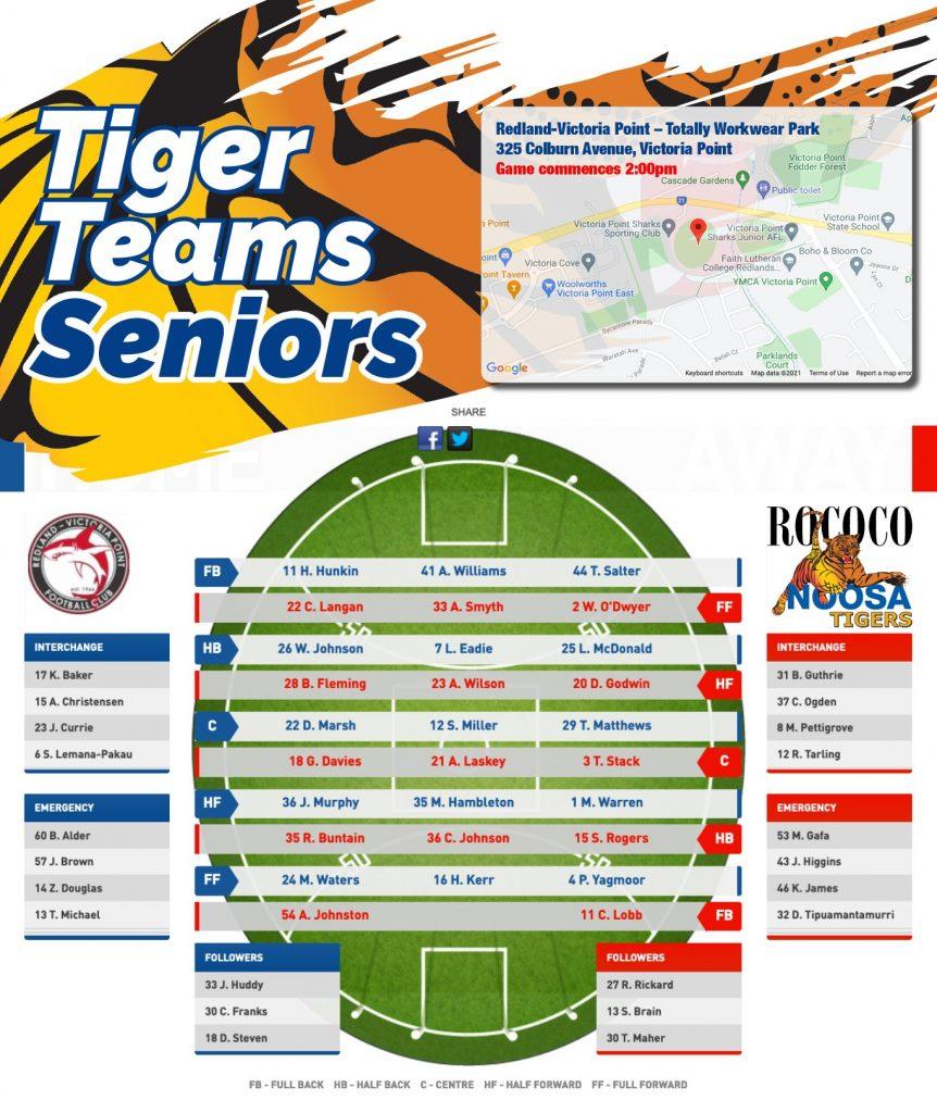 QAFL Round 10 2021 Redland vs Noosa Seniors