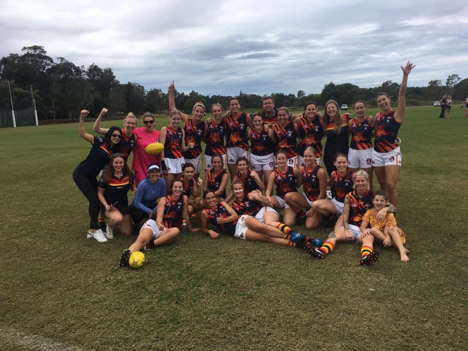 Noosa Tigers QFAW Team 2021